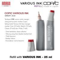 COPIC VARIOUS INK - 25 ml - TINTA ISI ULANG COPIC