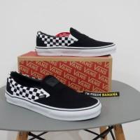 Sepatu Vans Slip On Slipon Pro Checkerboard Catur Thrasher ICC Premium