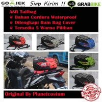 Tailbag (Untuk Semua Jenis Motor) / Seatbag / Tas Bagasi Motor ASR