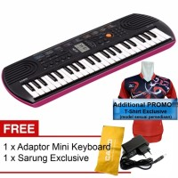 PROMO FREE ADAPTOR!!! Mini Keyboard SA-76/SA-77/SA-78 CASIO