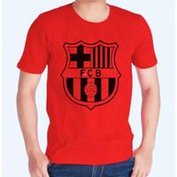 Kaos Distro Baju Tshirt Barcelona