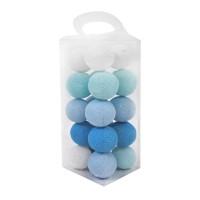 Cotton Ball Light - Lampion Benang - BOLA SAJA - Blue Tone