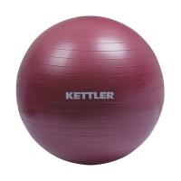 Kettler Gym Ball Peralatan Fitness -Burgundy [55 cm/134-100] 002002010