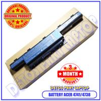 Battery Baterai Batre Acer Aspire Original 4741 4738 4739Z AS10D31 E1-