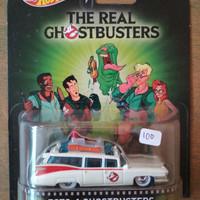 hot wheels hotwheels retro ban karet ghostbusters ecto 1 cartoon car