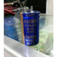 Elco Elko Capacitor Capasitor 10000uf 10000 uf 50v 50 v Rayden