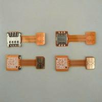 Adapter Dual Sim Card Nano To Nano Sim Hybrid Kabel Flexible