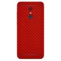9Skin - Premium Skin Protector for Xiaomi Redmi 5 Plus - 3M Red Carbon