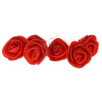 Hiasan Rambut Sanggul Tusuk Konde Bunga Mawar