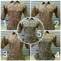 Baju Kemeja Hem Pakaian Batik Pria Obral Ika Fashion Tanah Abang Murah