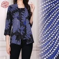 Ocha Atasan blouse kemeja abaya batik wanita  M - XL