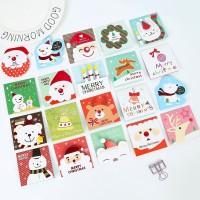 kartu ucapan 3d natal santa christmas gift card amplop