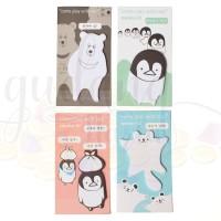 Sticky Note Post It Artics Animals Series Penguin Polar Bear Memo GH 3
