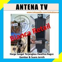 TERLARIS ! Antena TV - Modem Wajan Bolic Kualitas Super Jernih IN- OUT