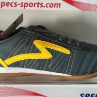 terbaru/ Sepatu futsal specs horus dark charcoal yellow 2015 original