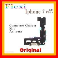 FLEXI IPHONE 7 PLUS  KONEKTOR CHARGER MIC ANTENA BLACK ORI 907263