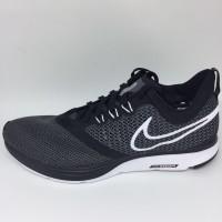 Sepatu running nike original Zoom Strike Black white new 2018