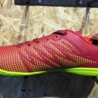 terbaru/ Sepatu futsal specs original Apache in dark red/solar slime n
