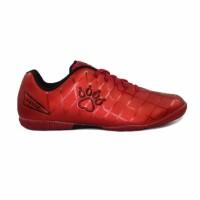 Sepatu Futsal Kelme Star 9 Red Black Original TOP KELME