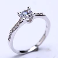 RL 179 - Ring Silver Emas Putih ASLI, Made in Korea-Garansi 6 bulan