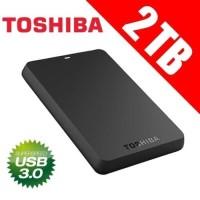 Toshiba Canvio Basic 2TB - HDD External / Hardisk Eksternal