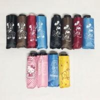 Payung lipat 5 mix / payung disney / payung karakter