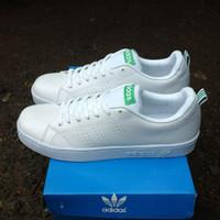 Sepatu Adidas Neo Advantage Premium Quality (( Putih Hijau))