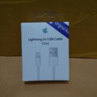 KABEL DATA APPLE IPAD PRO 2 METER ORIGINAL 100% USB IPHONE 6 IPHONE 7