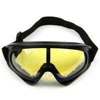 Kacamata malam motor goggles vision - siang anti silau - UV night View