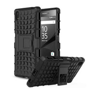 RUGGED ARMOR KICKSTAND SONY XPERIA Z5 PREMIUM HARD BACK COVER CASING