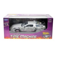 Diecast Welly Delorean Back To The Future I - Die Cast Mobil
