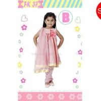 Baju India Warna Pink Baju Setelan Anak Perempuan Kostum Anak Cewe
