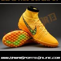 Sepatu Futsal Original Nike Elastico Superfly TF Volt Lime #684636-710