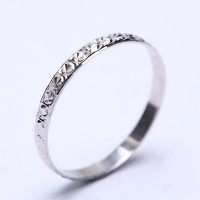 RL 192 - Ring Silver Emas Putih ASLI, Made in Korea-Garansi 6 bulan