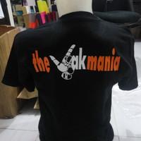 Kaos Shirt Persija The Jakmania Hitam