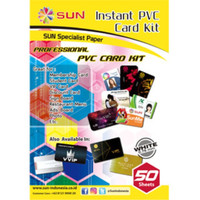 Kertas PVC ID Card 0,76 SUN WHITE