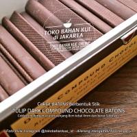 Coklat Stik Chocolate Batons Compound Sticks Cokelat Tulip  - 500 gr