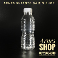 Botol Plastik 200 ml Air mineral Short neck PET