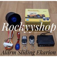 alarm mobil model remote sliding