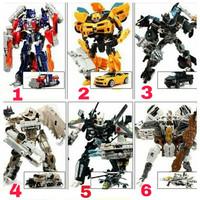 mainan robot Transformer mobil Transformers Optimus Bumblebee autobot