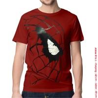 [KAOS DISTRO] baju keren superhero SPIDERMAN SAMPING SPANDEX dewasa
