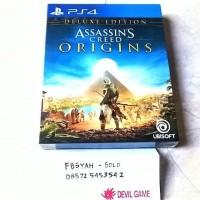 Assassin Creed Origin Deluxe Edition Assassin Creed Origins Deluxe PS4