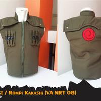 Jaket Rompi Anime Jounin Vest Kakashi Naruto Game Army (VA NRT 08)