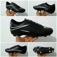 Sepatu Bola Nike Hypervenom Phelon FG Full Black HST