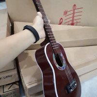 Heidi-Ukulele senar 4 nylon/Gitarkecil senar 4/gitar mini senar 4