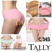 Celana Dalam Wanita Seamless Tanpa Jahitan Tally 345 Size XL - XXL
