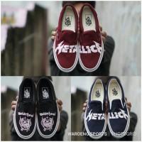Sepatu Vans Metallica & Motorhead Slip On Slop Premium BNIB Cowok