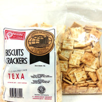 FREE BUBBLE+DUS Nissin Biscuits Crackers Texa 300g