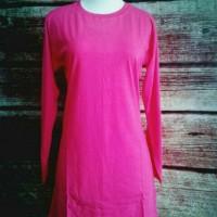 XXL Baju Kaos Polos Cewek WaNita Muslimah Big Size XXL