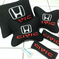 bantal mobik civic/carset civic/headrest civic